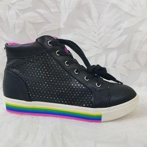 NEW Steve Madden JGroove Rainbow Sneakers